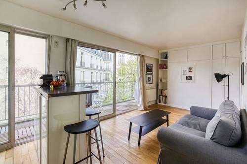 Loue mon studio avec terrasse, 2couchages, Trocadéro - Paris 16ème