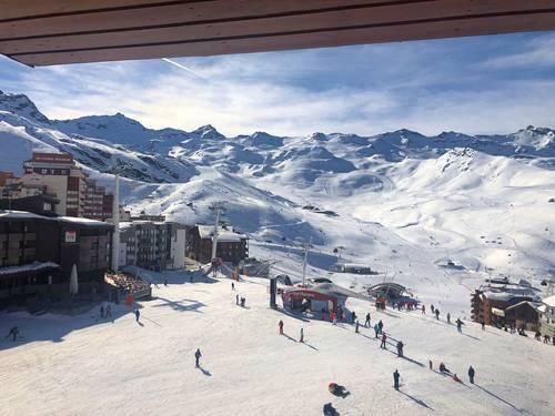 Loue studio à Val Thorens 4couchages - skis aux pieds