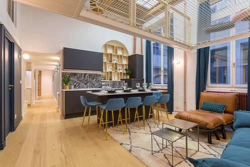 Propose Superbe appartement 2chambres, 6couchages au coeur de la presqu'ile Lyonnaise (2ème)