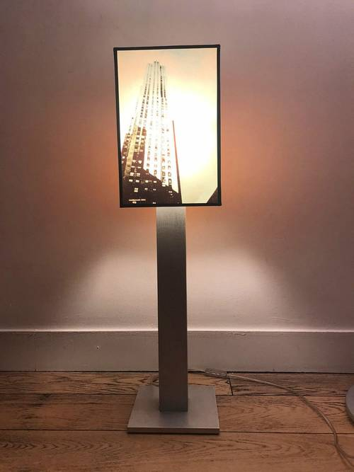 Superbe lampe New York Mat&Jewski