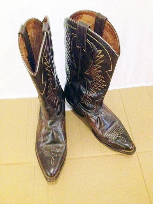 Superbe paire de bottes vintage de marque Boulet taille 10