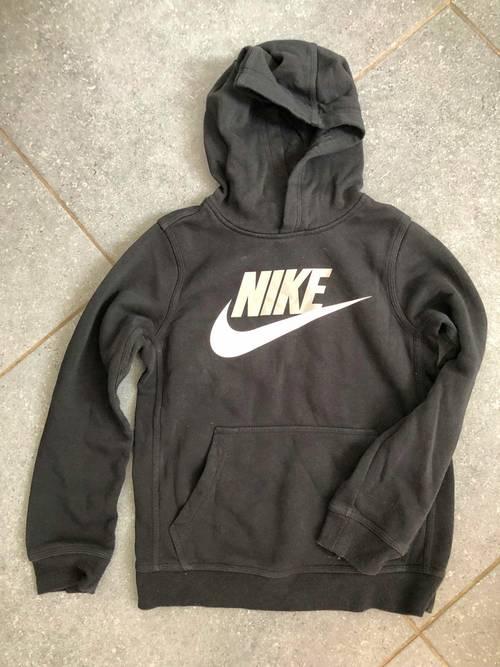 Sweat à capuche noir Nike - Taille 12ans
