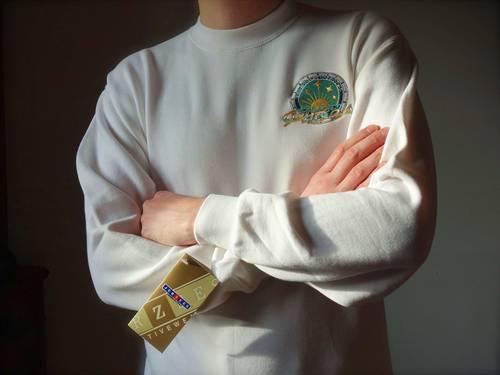 Sweatshirt de membre d'équipage du Phocea, taille L, neuf (étiquette)