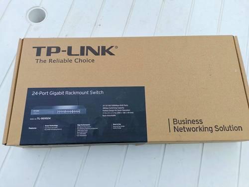 Switch 24Ports Gigabit Rackable TP-Link TL-SG1024
