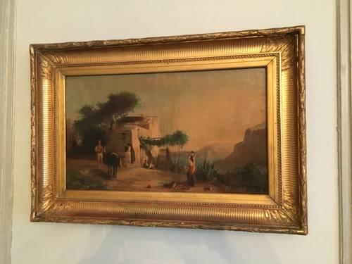 Vends tableau de «Girardet» 19e