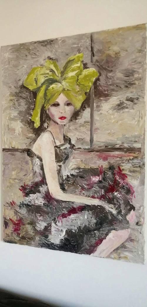 Joli tableau portrait