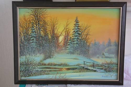 Vends tableaux russes