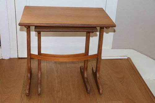 2 tables gigognes G PLAN Victor Wilkins 1960
