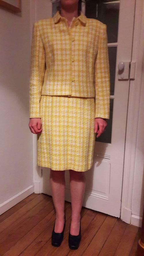 Tailleur Cyrillus en tweed taille 42