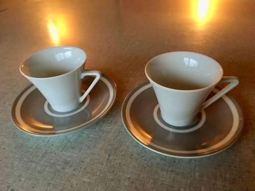 Très jolies tasses à café «toi et moi»