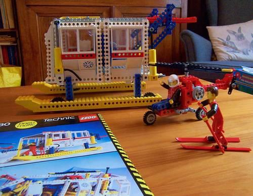 Lego technic ancien - Base arctique polaire 8680