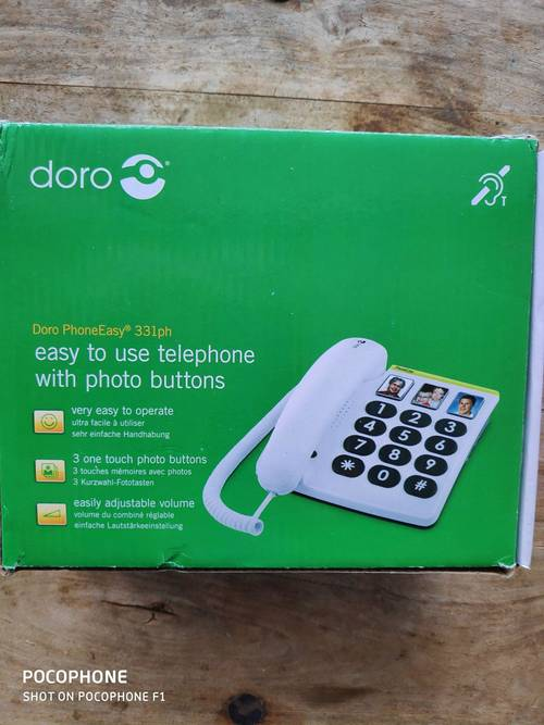 Téléphone Doro Phone easyJet 331ph
