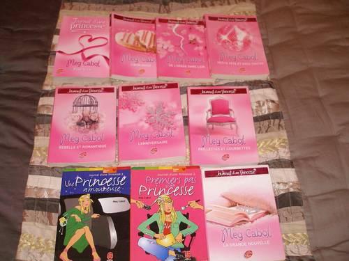 """10tomes """"Journal d'une Princesse"""" de Meg CABOT"""