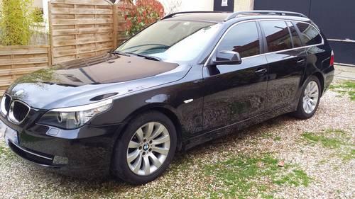 BMW 520d touring Excellis 177ch noire diesel - 2009, 211500km