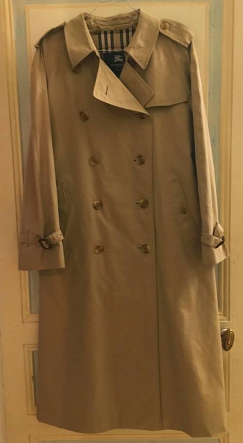 Trench coat Burberry femme coton original