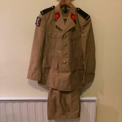 Uniforme Officier Armée de Terre (tenue été) taille M/42
