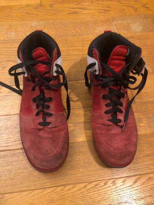 Vends chaussures Dunk High usées taille 45