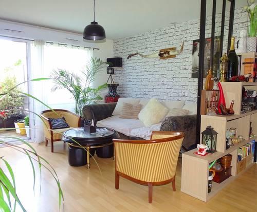Vends Vannes (56) - Appartement 66,50m², 2chambres, balcon, garage et cave