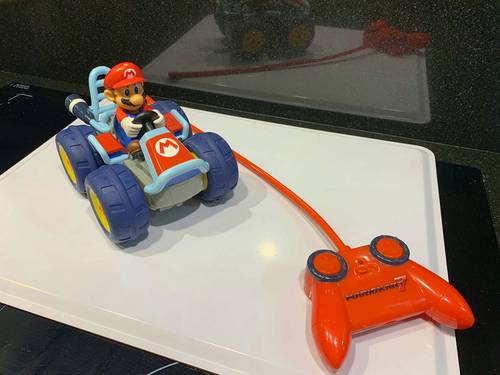 Véhicule radiocommandé 7Power Drive Mario Kart -Tomy