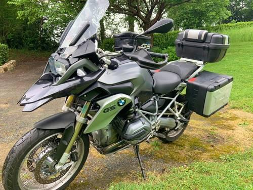 Vends moto BMW R 1200GS 2014, 30169km en très bon état