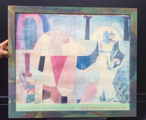Vends affiche du peintre KLEIN