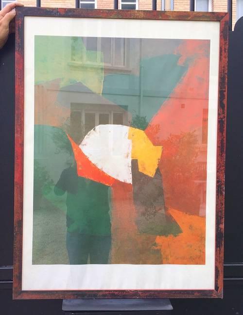 Vends Affiche du peintre POLIAKOFF