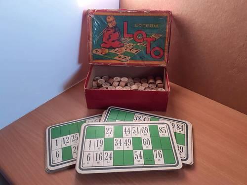 Vends jeu de loto ancien NK Atlas