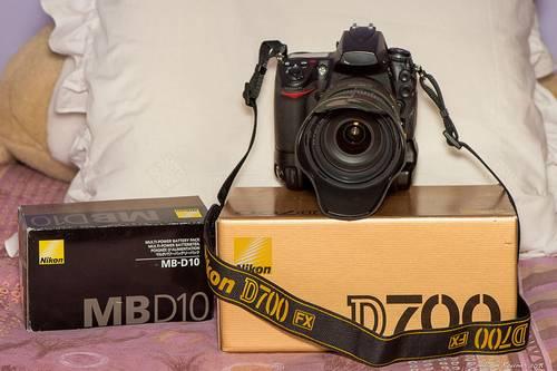Je vends appareil Nikon D700avec grip MB-D10