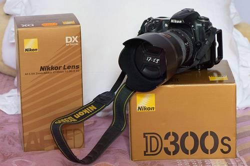 Vends appareil réflex Nikon D300s et objectif 17-55mm