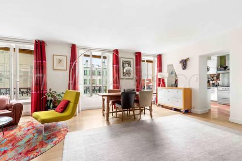 Vends appartement 4chambres lumineux et calme Paris 11ème - 112m² - 4chambres