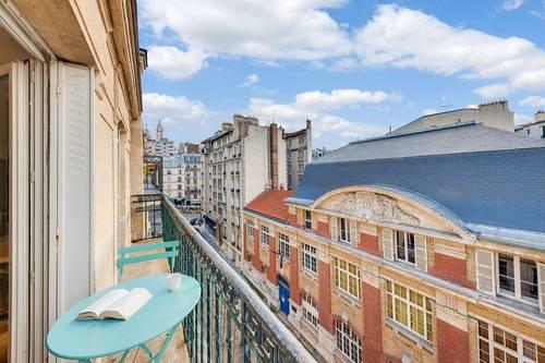 Vends appartement entierement refait - 2chambres, 57m², 18ème - Paris 18ème