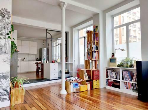 Vends Bel appartement esprit loft 90m² - Bien unique - 3chambres, Bois-Colombes (92)
