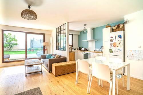 Vends Appartement familial 3chambres, grand jardin, 2parkings - Asnières-sur-Seine (92)