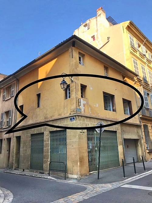 Vends appartement grand T2de 54m² plein centre Aix en Provence (13)
