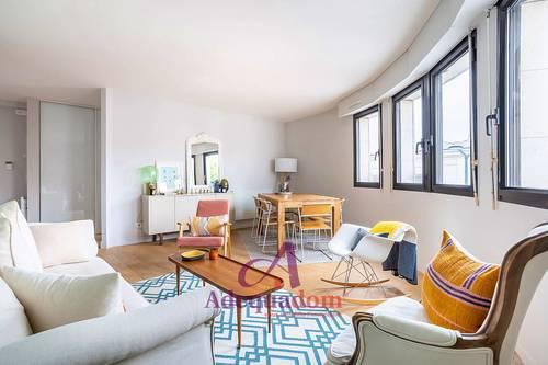 Vends appartement 3pièces - Asnières-sur-Seine (92) - Gare - 71m² - 2chambres