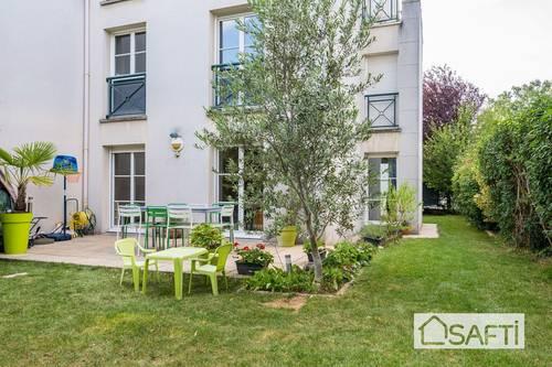 Vends appartement 3pièces 65m², 2terrasses et jardin 200m² - Bois-Colombes (92)
