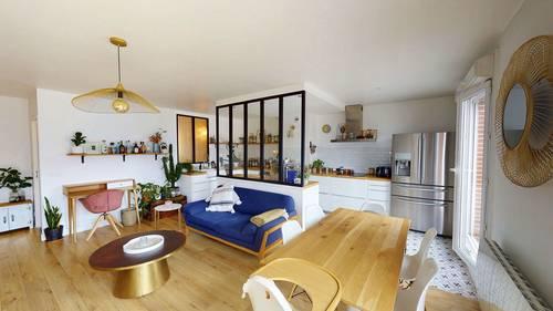 Vends BEL APPARTEMENT de 73m² à Saint Ouen/Paris