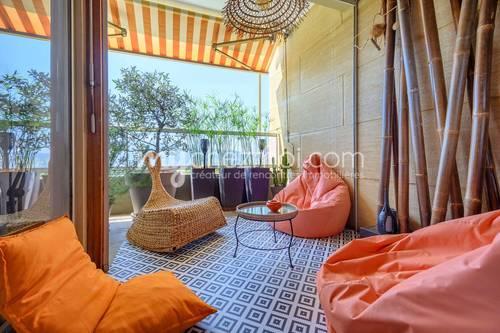 Vends appartement de 111m² - terrasse 13m² - 3chambres