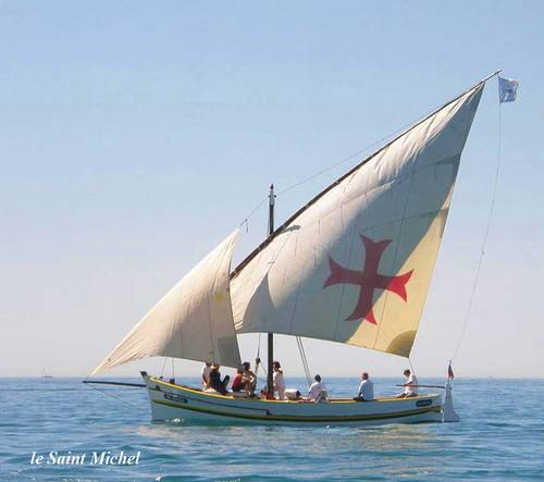 Vends bateau voile latine Bonitier 8,90long