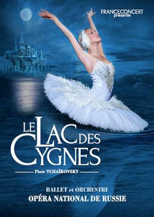 Vends 2billets lac des cygnes samedi 6novembre
