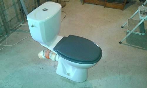 Vends WC blanc