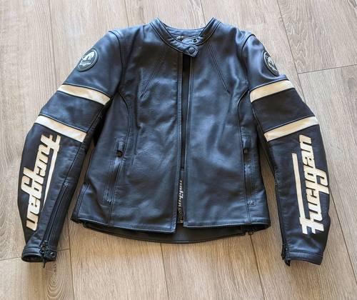 Vends blouson de moto Furygan femme cuir taille M