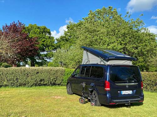 Vends camping-car Marco Polo Mercedes - 33000km - 2019