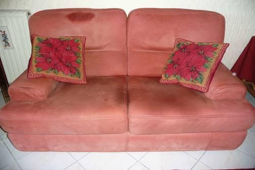 Vends un canapé en cuir