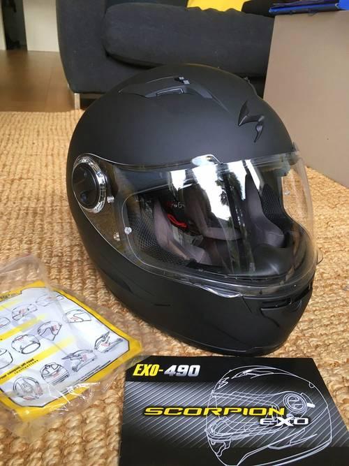 Vends casque de moto femme neuf