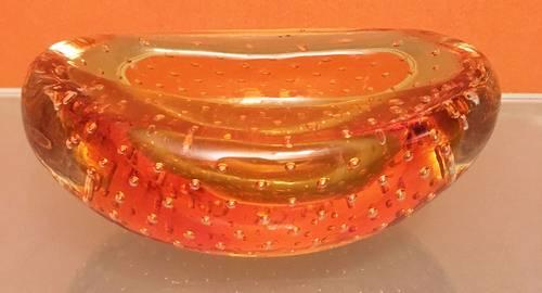 Cendrier en verre de Murano