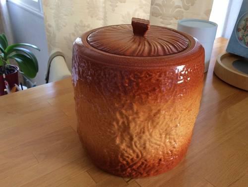 Vends pot céramique vintage
