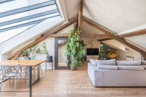Vends loft 130m², 2chambres à Clichy