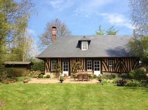 Vends charmante maison de 75m² - 3chambres - Jardin & vue - Le Mesnil-sur-Blangy (14130)