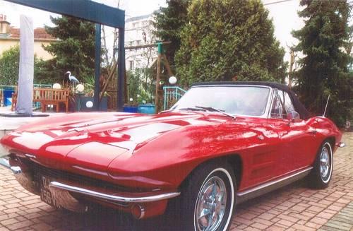 Vends Chevrolet Corvette C21963